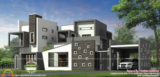 contemporary style house plans luxurious contemporary style house plan kerala home design and
