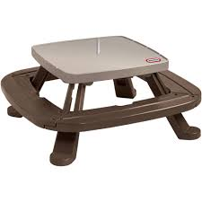 lifetime 6 folding outdoor picnic table brown 60110 picnic tables lowest price best table decoration