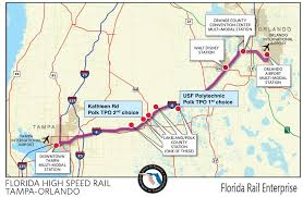 Tampa Florida Usa Map florida high speed corridor wikipedia