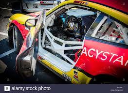 porsche gt3 racing series inside a porsche 911 gt3 cup series car stock photo royalty free