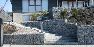 Cost Of Landscaping Rocks by Gabion Rock Montclair Construction Grant Pinterest Retaining