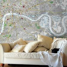 Stanford Maps Vintage London Street Map Wallpaper By Love Maps On