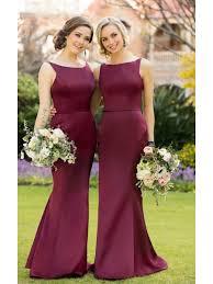 burgundy bridesmaid dresses burgundy wedding bridesmaid dresses 3302005
