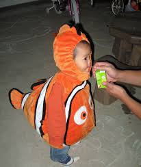 Halloween Costumes Rent Nemo Costume Patterns Fish Orange Black