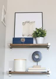 Images Of Bathroom Shelves How To Style Bathroom Shelves Above The Toilet Diy Playbook