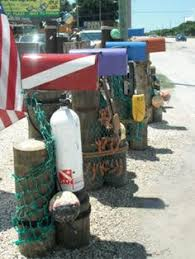 themed mailbox nautical mailbox at diy network s coastal retreat in nc