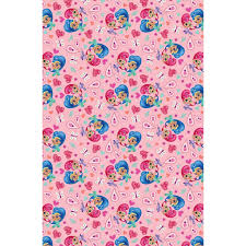 my pony christmas wrapping paper shimmer shine wrapping paper 4m gift wrap b m
