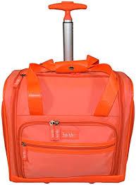 longchamp bag black friday sale amazon us nicole miller nelly rolling under seat luggage orange nicole