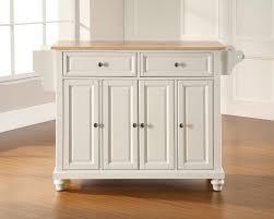 natural wood kitchen island zamp co natural wood kitchen island crosley furniture cambridge 52x18 natural wood top kitchen island in white