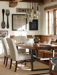 Rustic Modern Dining Room Tables Rustic Farmhouse Dining Table Home Fabrizio Design Warm And
