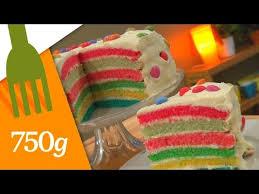 750 grammes recette de cuisine recette du rainbow cake 750 grammes recipes