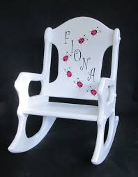 personalized toddler rocking chair ladybugs