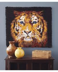 Latch Hook Rugs For Sale Fall Savings On Bengal Tiger Latch Hook Rug