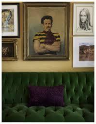 Green Velvet Tufted Sofa by Monday Obsession Green Velvet Sofas Nomad Luxuries