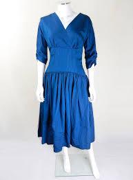 1950s teal drop waist prom dress 50s fashion 50s clothing