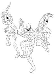 power rangers colouring pages kids power rangers