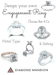 build your own ring build your own diamond engagement ring platum build your own