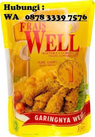 Minyak Frais Well 0878 3339 7576 agen minyak goreng murah di semarang