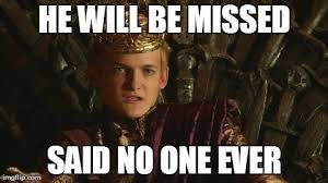 King Joffrey Meme - 7 game of thrones purple wedding memes and gifs tv show memes