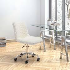 Office Chair On Laminate Floor Lola Faux Fur Office Chair