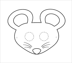 printable lizard mask template 21 mouse templates crafts colouring pages free premium templates