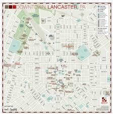 Map Of Pennsylvania Wayfinding City Park And College Campus Map Illustration U0026 Design