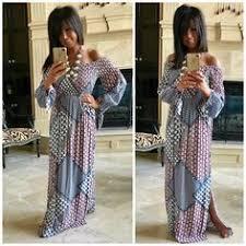 janette the famous paisley 70s maxi wrap dress long split sleeves