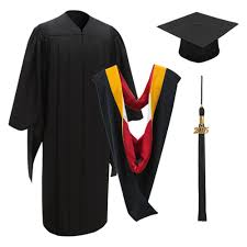 master s cap and gown deluxe master cap gown tassel graduation cap and gown