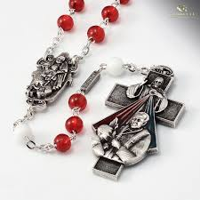 unique rosaries jubilee year of mercy rosary bohemian glass ghirelli rosaries