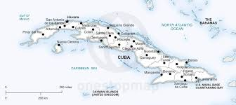 Map Cuba Vector Map Of Cuba Political One Stop Map