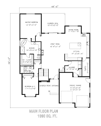 28 main level floor plans windsor 7049 1 bedroom and 1 bath main level floor plans 10815 quot the montrose quot thurber home plans