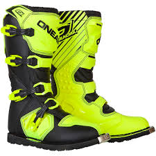youth motorcycle boots oneal new 2018 kids mx rider dirt bike cheap hi viz yellow youth