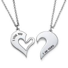 custom necklaces for couples engraved necklaces