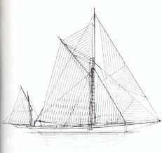 summers u0026 payne 67 ft gaff yawl 1886 sandeman yacht company