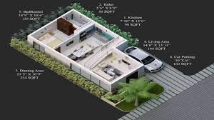 2 Bhk Home Design Plans by House Design 30 X 40 Site Youtube