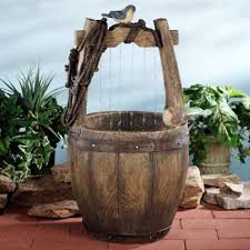 decorating rustic wishing well indoor trends with office water