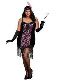 1920s Halloween Costume Size Flapper Costumes 1920 U0027s Flapper Dress Costume