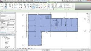 How To Create Floor Plans by Creating Floors Revit Architecture 2016 Essential Training Youtube