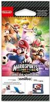 mario sports superstars amiibo cards pack of 5 nintendo 3ds