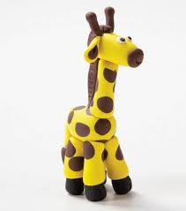 create a clay giraffe kidscrafts kids crafts with joann