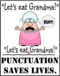 Punctuation Meme - punctuation saves lives