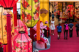 Lunar New Year Home Decorations by Shopping Malls In Kl Celebrate Chinese New Year With Bright And