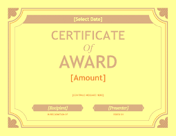free gift certificate template award template for word 2013 or
