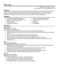 resume exles for fast food high school math tutoring homework help test prep fast food