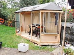 Summer House In Garden - he needs a place to get away from it all so he goes out back and