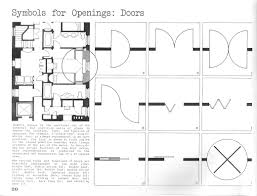 Floor Plan Door Symbols by Lecture Notes Architectural Drawing Course