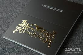 Business Cards With Foil Awesome Foil Embossed Business Cards 46 In Business Card Template