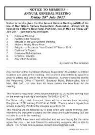 steam black friday 2017 notice to members 2017 annual general meeting isle of man