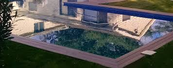 Hidden Patio Pool Cost by Vinyl Lined Pools