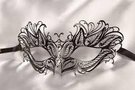metal masquerade mask black metal masquerade mask masks